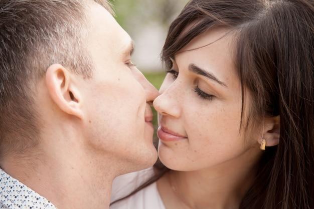Les amoureux à embrasser