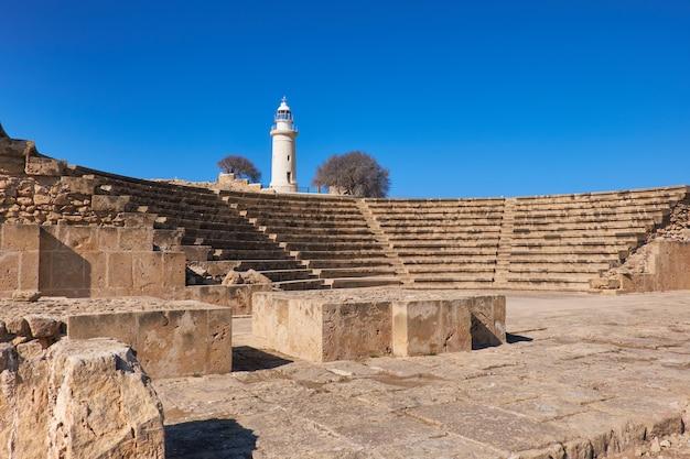 Amphithéâtre de site archéologique de paphos