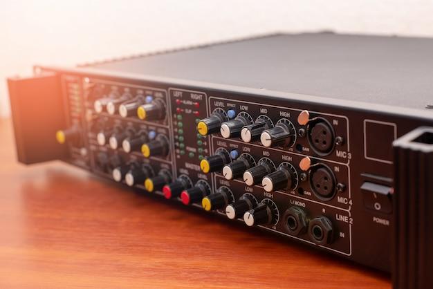 Amplificateur de musique audio studio