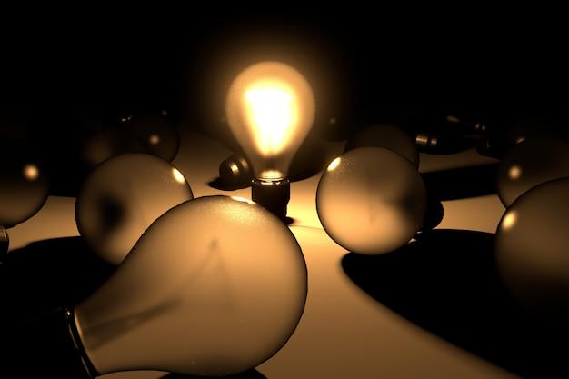 Ampoule 3d