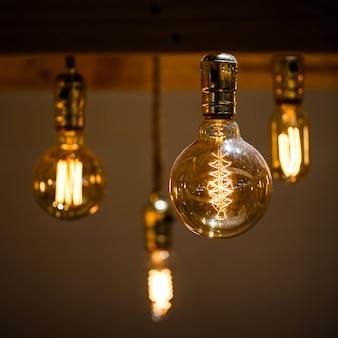 Ampoule chaude vintage vintage décorative d'edison