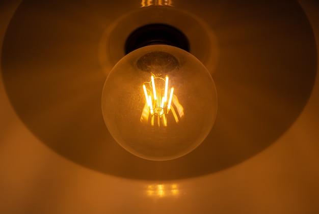 Ampoule électrique vintage