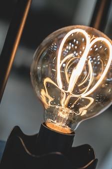 Ampoule de lampe étincelante
