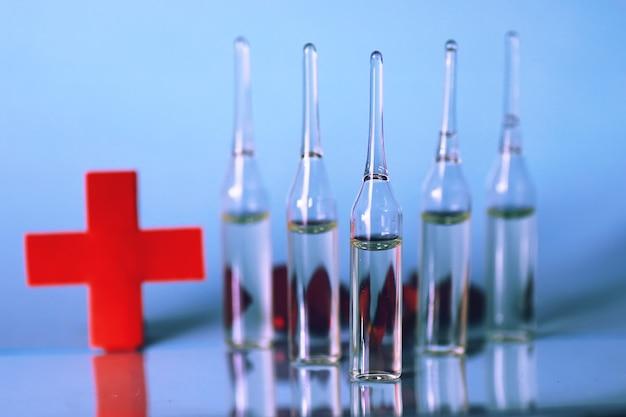 Ampoule seringue médicale