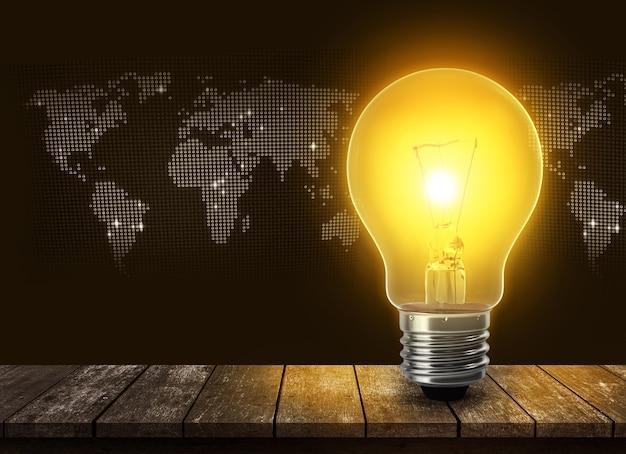 Ampoule en verre brillant idées pour l'ampoule