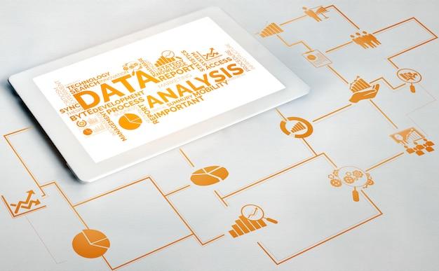 Analyse de données pour le concept commercial et financier
