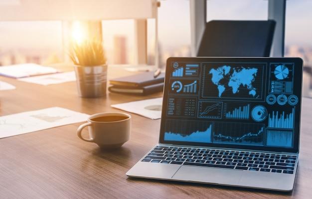Analyse des données pour le concept commercial et financier