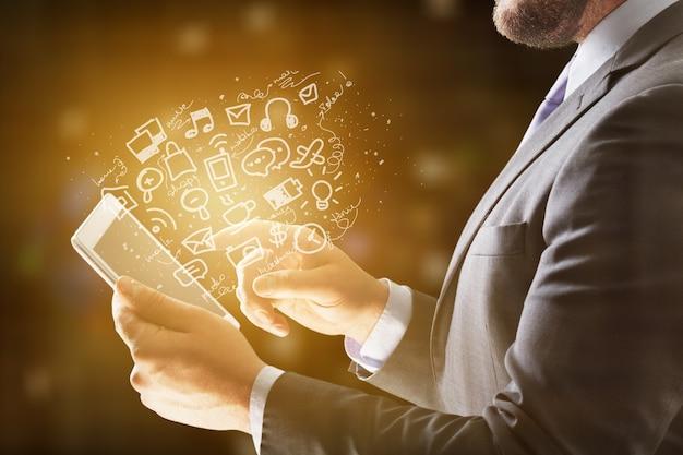 Analyse de la filiale de comptabilité de la technologie d'entreprise de la communication de l'information