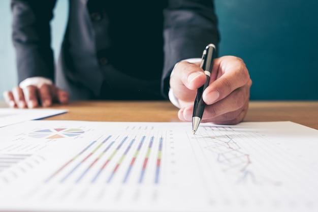 Analyse des graphiques du marché boursier de la comptabilité financière