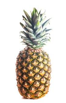 Ananas isolé sur fond blanc bouchent
