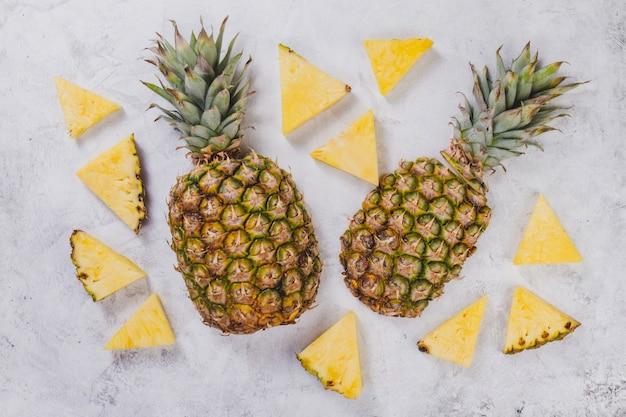 Ananas savoureux pour l'été