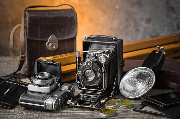 Ancien appareil photo mécanique