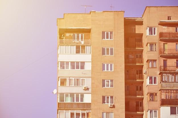 Ancien bâtiment russe à plusieurs étages