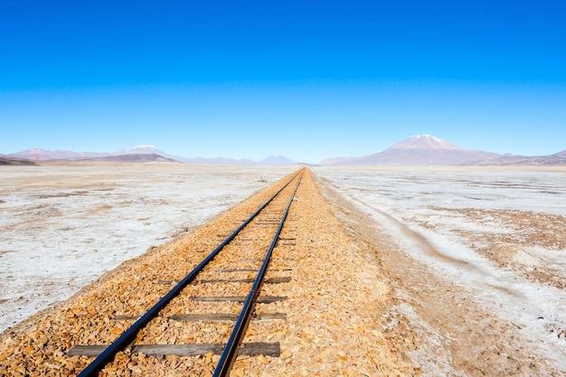 Ancien chemin de fer, bolivie