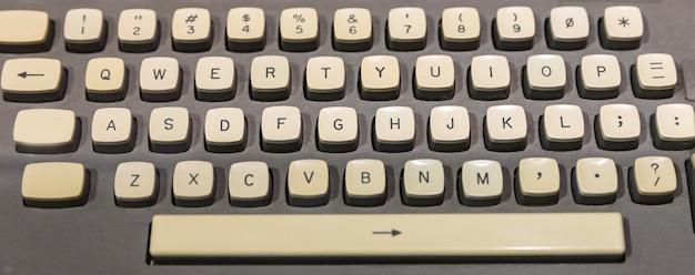 Ancien clavier d'ordinateur