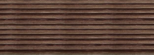 L'ancien fond de bannière de texture en bois foncé