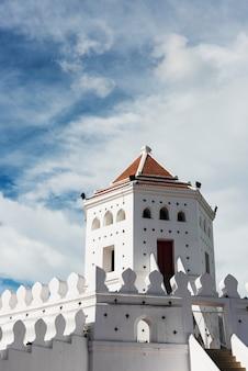 Ancien fort à bangkok en thaïlande