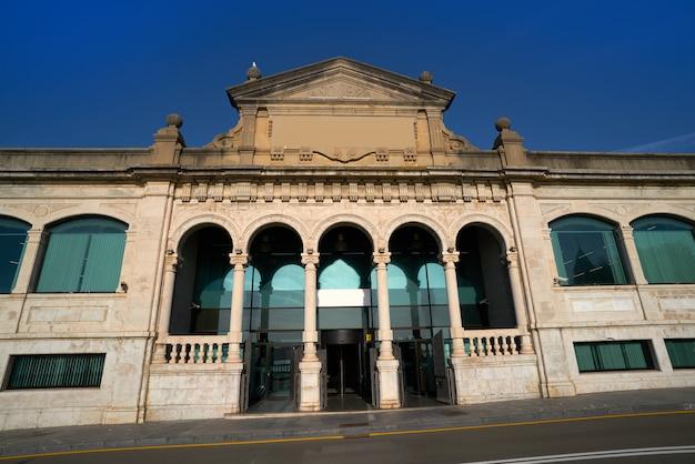 Ancien marché aux poissons de gijon asturies espagne