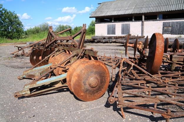 Ancien mécanisme agricole
