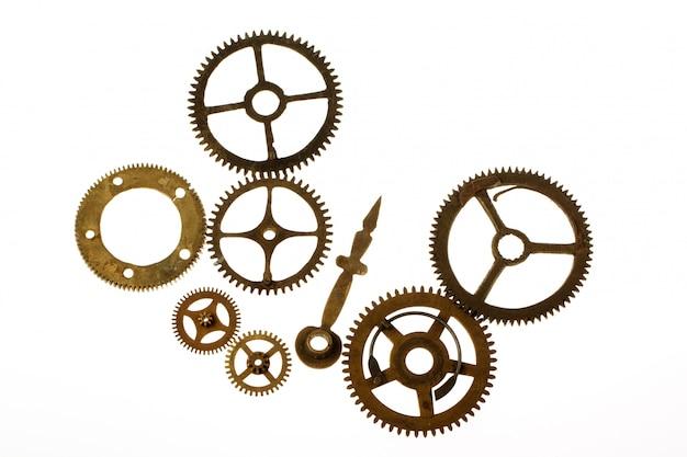 Ancien mécanisme d'horlogerie