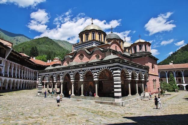 L'ancien monastère de rila en bulgarie