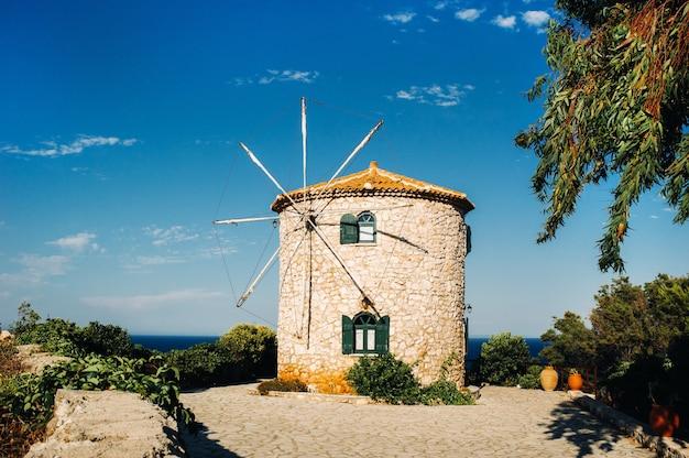 Ancien moulin traditionnel grec, zakynthos