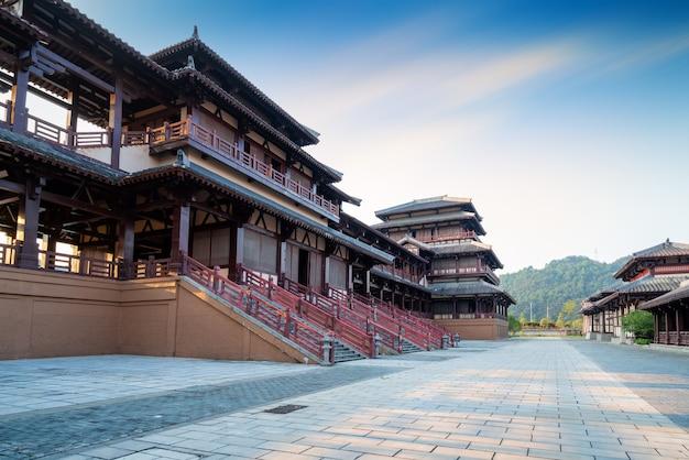 Ancien parc de la ville de qin et han, guizhou, chine.
