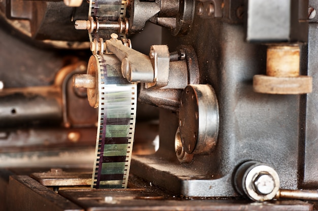 Ancien projecteur de film