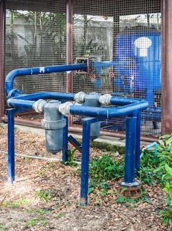 Ancien système de pompage