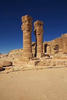 Ancien temple de pharaon au soudan