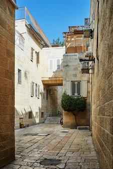 Ancienne allée du quartier juif de jérusalem