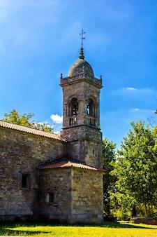 Ancienne chapelle santa susana, santiago de compostela, espagne