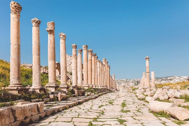 Ancienne citadelle d'amman, jordanie.