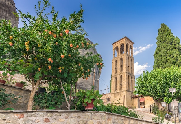 Ancienne église byzantine à meteora, grèce