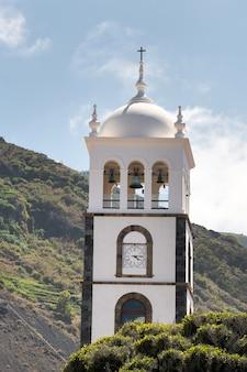 L'ancienne église ex-convento de san francisco à garachico, tenerife, espagne.