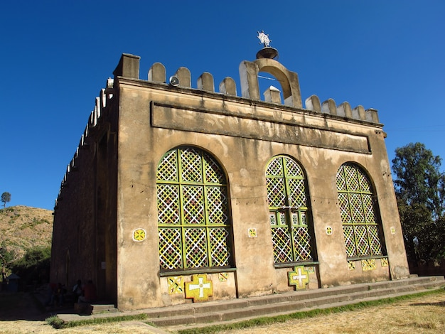 L'ancienne église orthodoxe de la ville d'axoum, en éthiopie