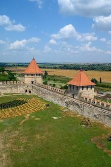 Ancienne forteresse turque cintreuse à tighina transnistrie moldavie