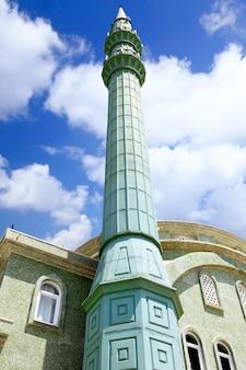 Ancienne, grande mosquée en turquie.
