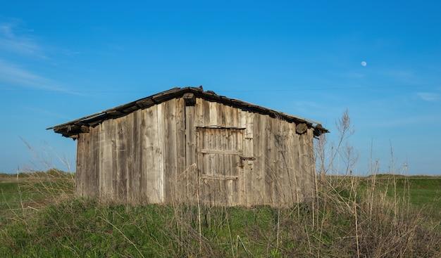 Ancienne grange délabrée