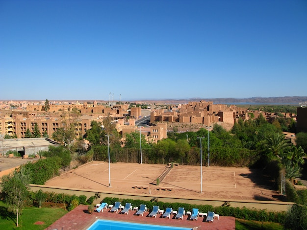 Ancienne kasbah, à ouarzazate, maroc