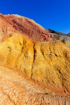 Ancienne mine mazarron murcia en espagne