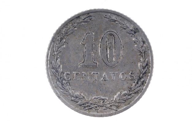 Ancienne monnaie argentine 10 centavos