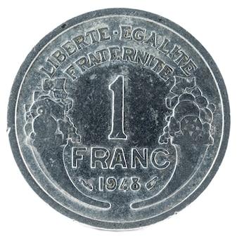 Ancienne pièce de monnaie française.