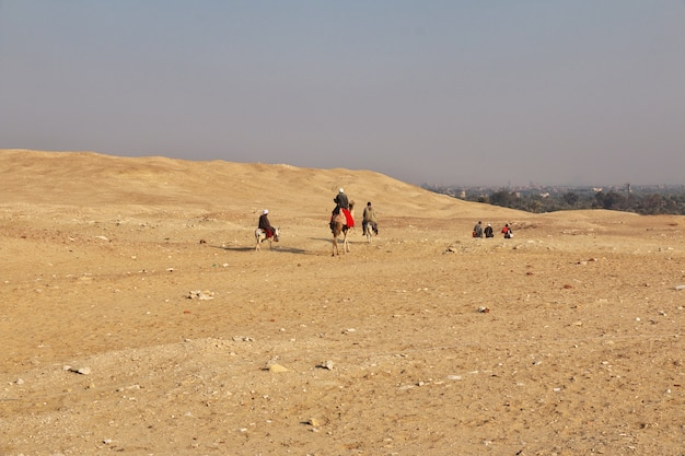 Ancienne pyramide de sakkara en egypte