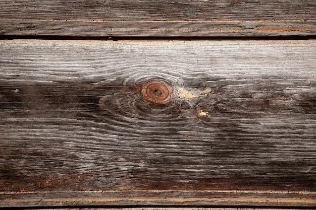Ancienne surface en bois. la texture de l'arbre. fond en bois, toile de fond planche marron vieilli