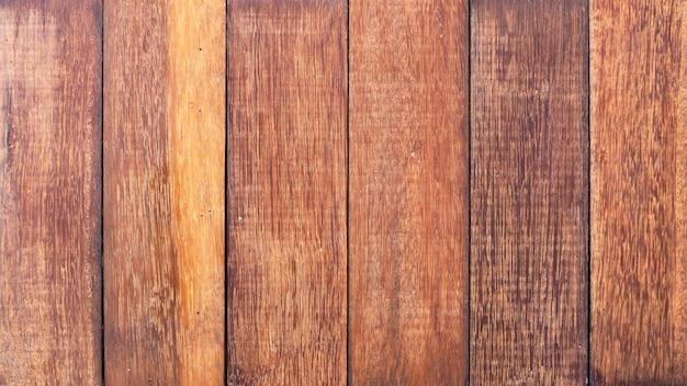 Ancienne surface de texture en bois naturel véritable du sol et couleur marron foncé