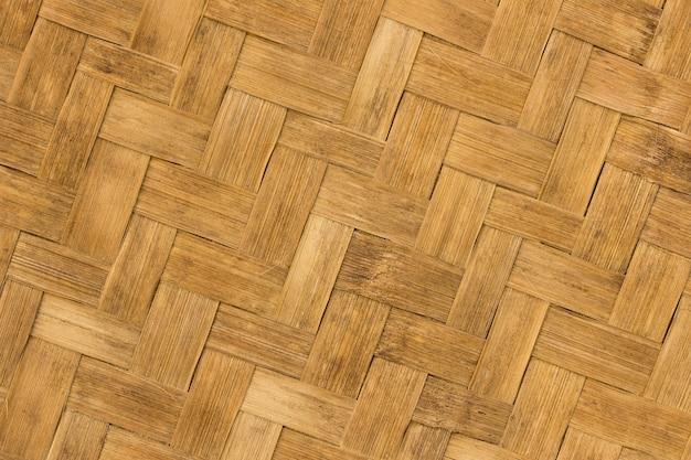 Ancienne texture de bambou pour le fond