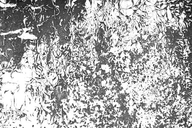 Ancienne texture de contraste de peinture fissurée pour les illustrations de superposition.