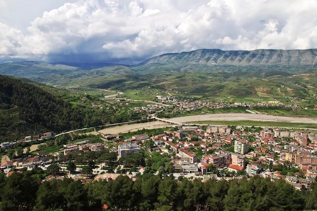 L'ancienne ville de berat en albanie