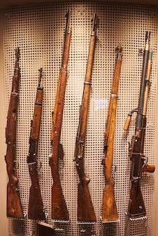 Anciennes armes à feu de l'allemagne nazie pendant la seconde guerre mondiale